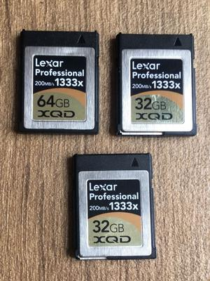 Lexar XQQ 1 memory cards
