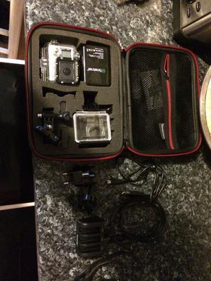 GoPro4 silver + accessories