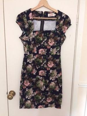 Gorgeous floral dress by Louche-Joy' perfect for a wedding