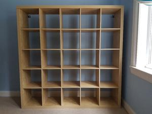 great set of ikea expedit shelves room hove posot class. Black Bedroom Furniture Sets. Home Design Ideas
