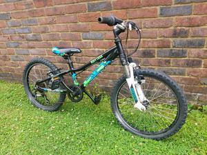 Kids saracen mountain bike 20inch wheels