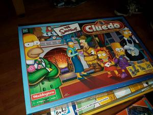 The Simpsons cluedo board game