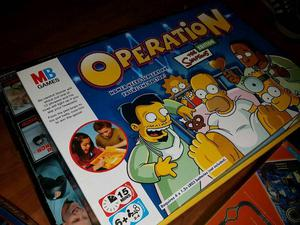 The Simpsons operation board game
