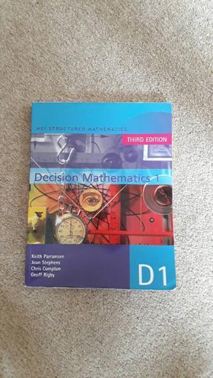 MEI D1 maths book
