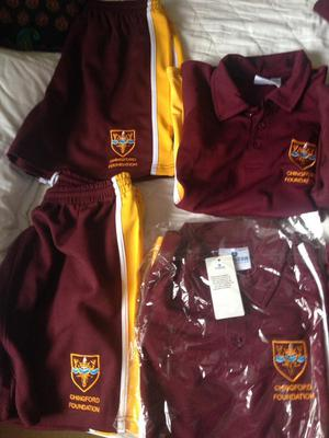 NEW Collection of Chingford Foundation School Clothes