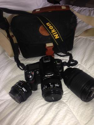 Nikon D80 with lenses and accessories