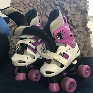 Girls Ice Skates & Roller Skates - Size