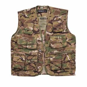 Kombat Kids Tactical Vest Btp Camouflage Army Style Airsoft