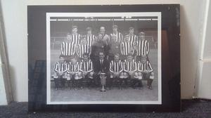 Pair of large Newcastle united pictures