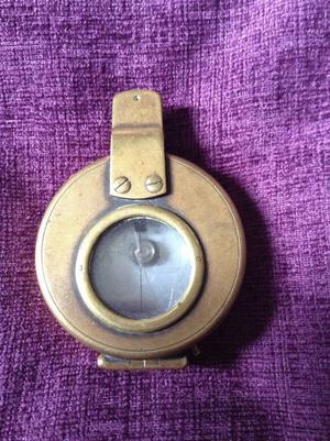 Boer war compass,military compass,brass compass,ww1 compass,militaria,vintage compass