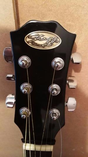 STAGG accustic electric guitar lovely sounding and nice looking