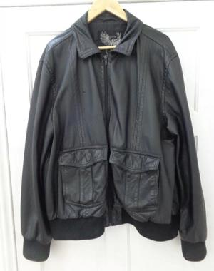 Men's leather jacket from NEXT.