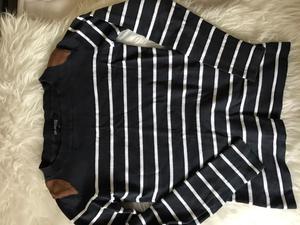 Women's striped jumper