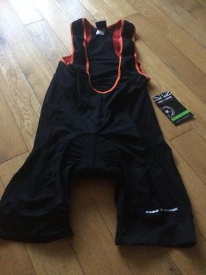 Bib cycling shorts