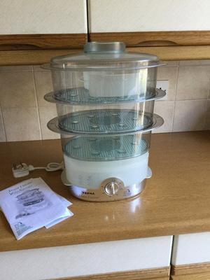 Tefal Steam Cuisine electric steamer - Unused