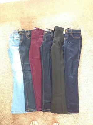 Age  girls trousers