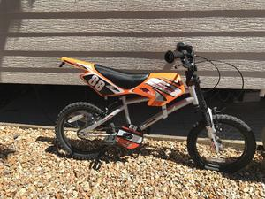 Boys Halfords bike motorcross style cost £120