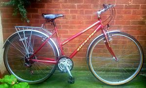 Silverfox breeze ladies bike,700c wheels,21 gears