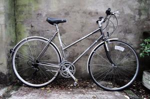 DAWES SHADOW. 21 inch, 54 cm, vintage ladies womens dutch style mixte Reynolds frame road city bike