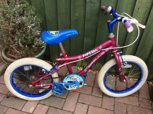 Girls apollo Bike age 5-7