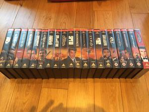Full Collection of James Bond VHS