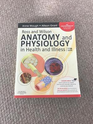 Dorable Ross & Wilson Anatomy And Physiology In Health And Illness ...