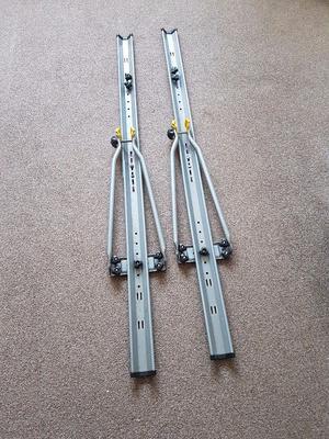 2 Halfords bike racks