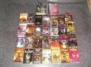30 ALIEN / PREDATOR / ALIENS VS PREDATOR BOOKS