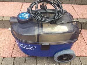 Car valet machine, carpet cleaner, vacuum cleaner