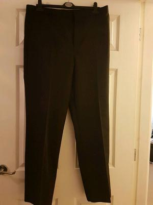 BRAND NEW M&S Boys school Trousers black 2 pairs