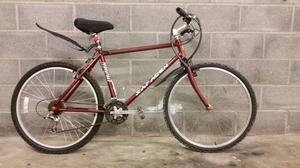 FULLY SERVICED SARACEN TERRATRAX ALUMINIUM FRAME BICYCLE