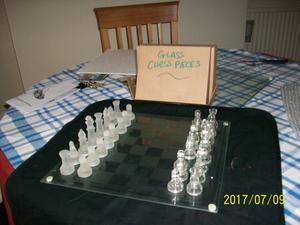 Glass Chess And Backgammon Set In Sheerness Posot Class