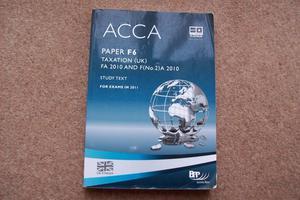 Acca paper taxation - ACCA Paper F6 Taxation UK FA 2017