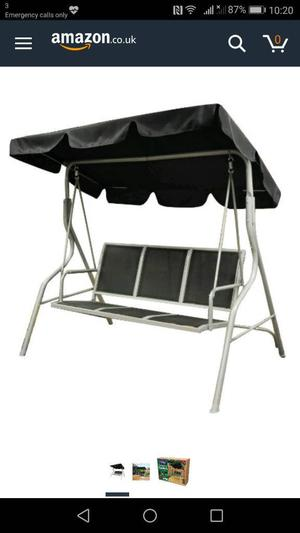 Brand new 3 seater Deluxe swinging hammock
