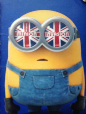 Minion red/blue/yellow book for sale