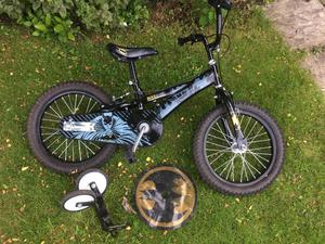 Batman Boys bike 16 wheel. Mint conditon
