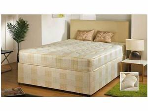 --CHEAPEST PRICE EVER--- BRAND NEW DOUBLE DIVAN BASE WITH DEEP QUILTED 9; THICK LUXURY MATTRESS -