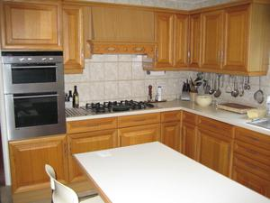 Fitted kitchen and integrated appliances