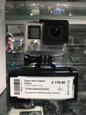 GoPro Hero 4 - black edition action camera