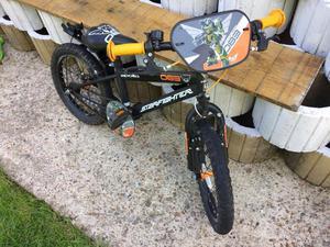 "Halfords Apollo Boys Bike 16"" Wheels 4 -7 age group"