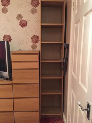 Book shelf and cabinet for sale
