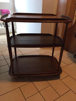 Ercol tea trolley vintage furniture