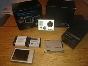 Gopro Hero 2 + Loads of accessories bundle Action Camera