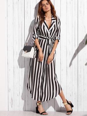 Striped Shein dress