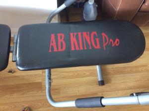 Pro Ab King Fitness Bench. As new, Cost £