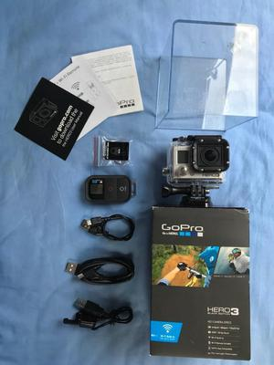 GOPRO HERO 3 BLACK EDITION (BOXED AND WIFI REMOTE)