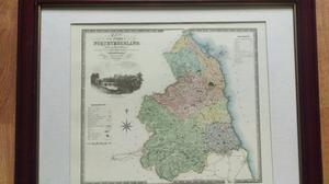 Northumberland survey map