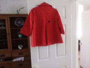 New Look orange jacket size 12