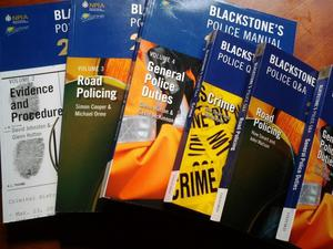 Blackstone Police Manuals and Police Q & A  all very clean condition