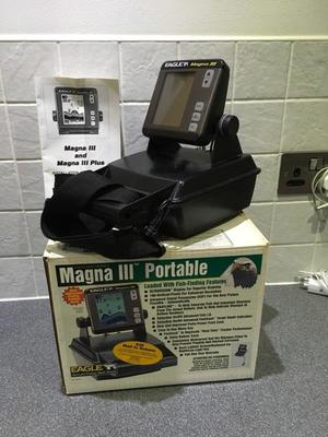 Fish finder eagle fish mark 160 in good posot class for Battery powered fish finder